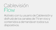 Banner CablevisionFlow